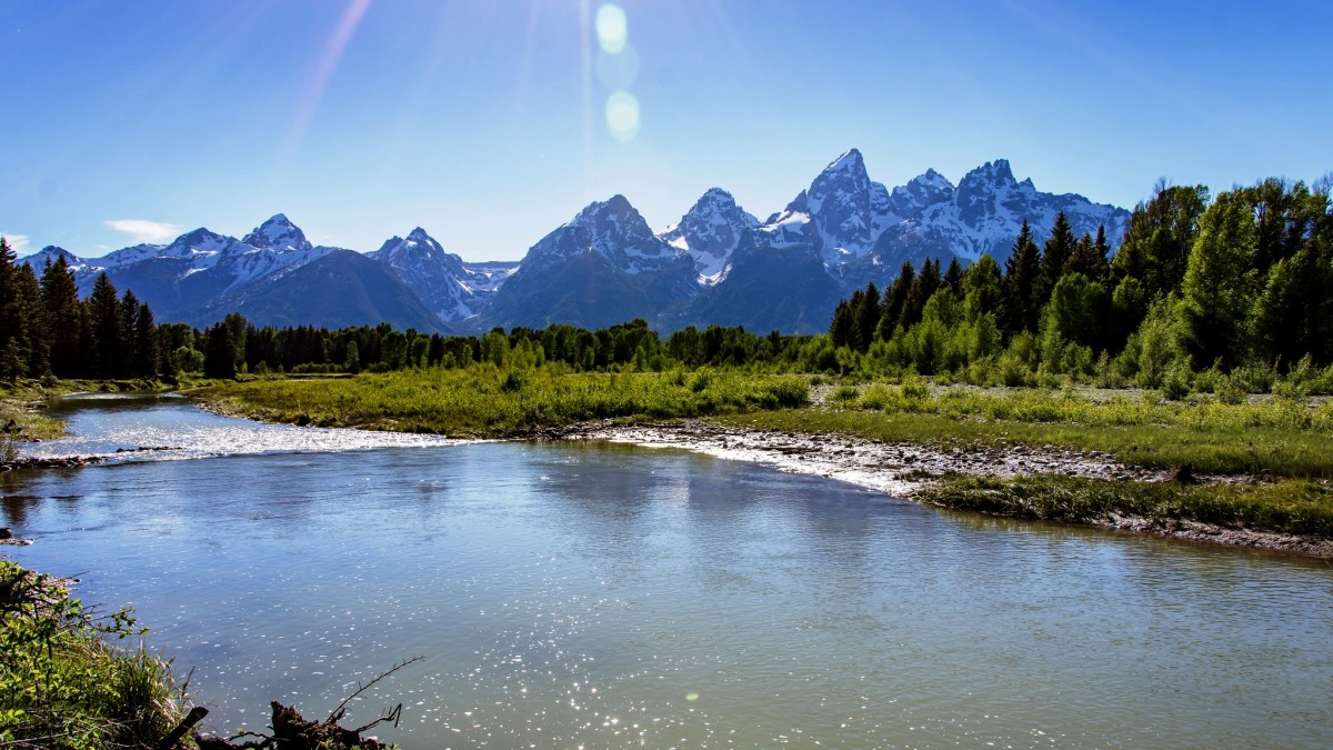 Snake River at Grand Teton National Park, Wyoming