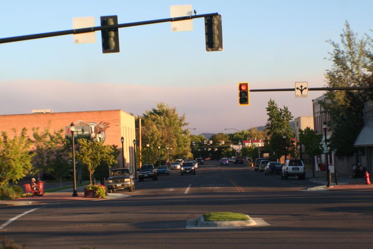 Kalispell, Montana near the Red Lion Hotel