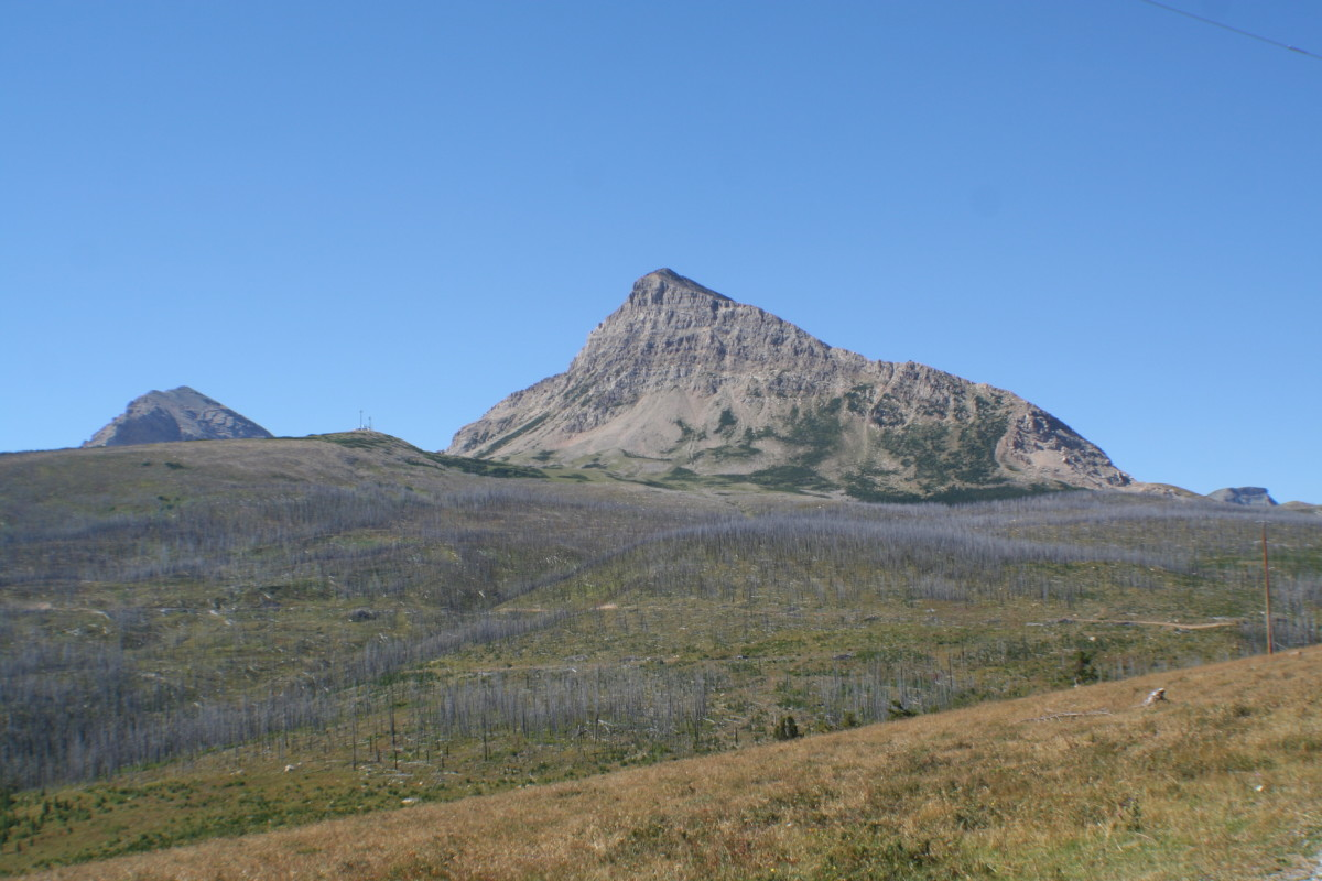 Travelling to Glacier National Park across Montana