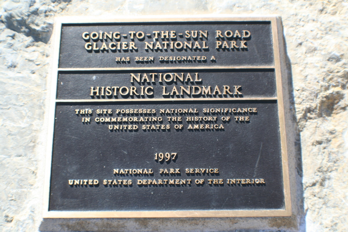 Going-to-the-Sun Road plaque