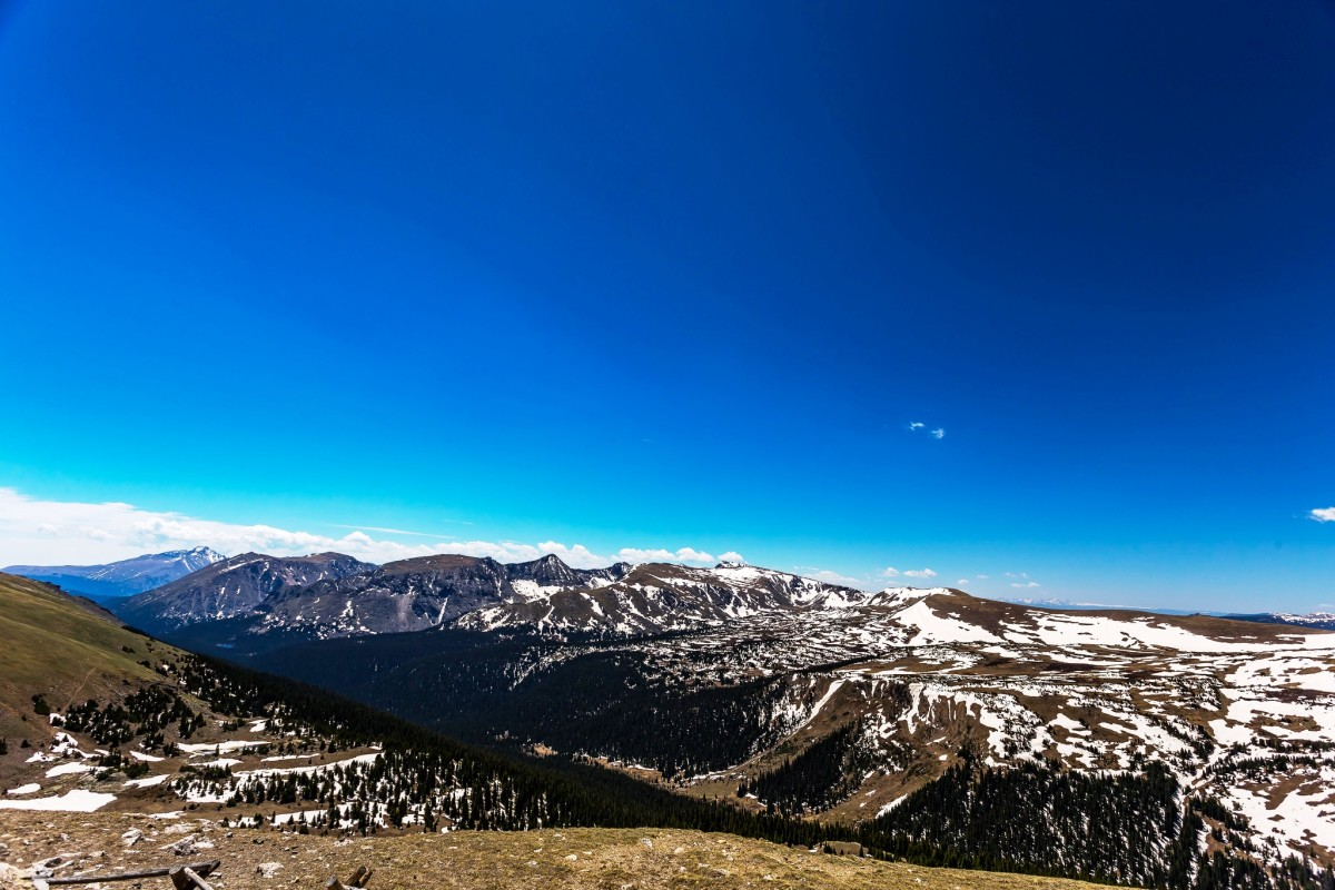 Gore Range Overlook on Trail Ridge Road in Rocky Mountain National Park