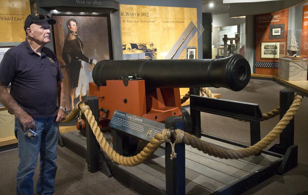 Naval Museum Nauticus in Norfolk, VA