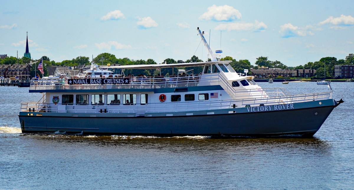 Take a Norfolk Naval Base Cruise on the Victory Rover in Norfolk, VA
