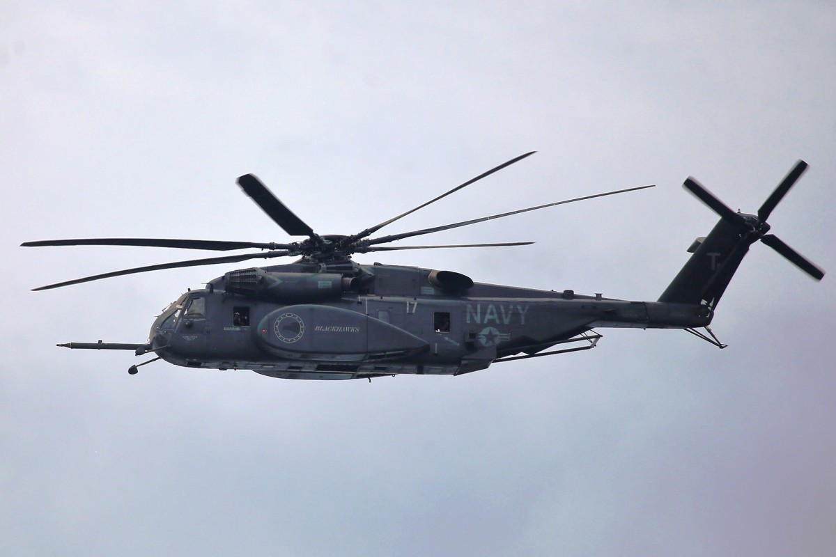 U.S. Navy Sea Dragon helicopter based out of Naval Station Norfolk in Norfolk, VA