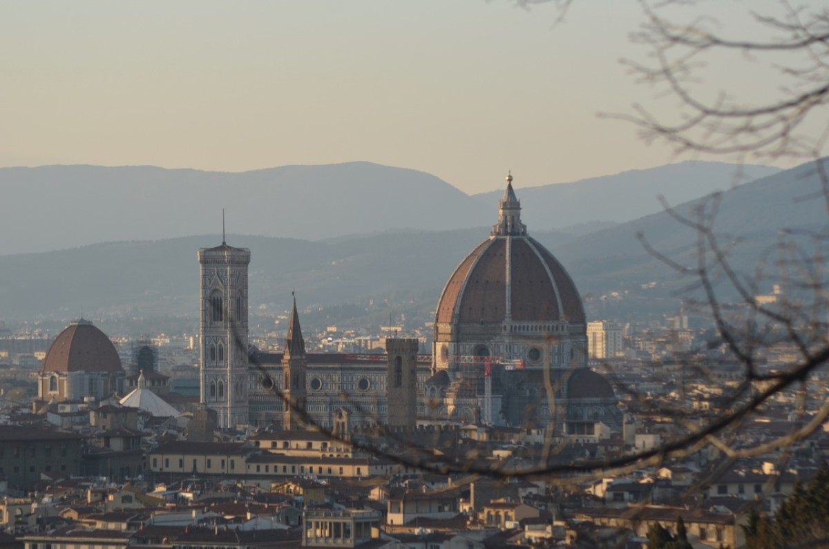 View from the Piazzale Michelangelo (c) Anne Harrison