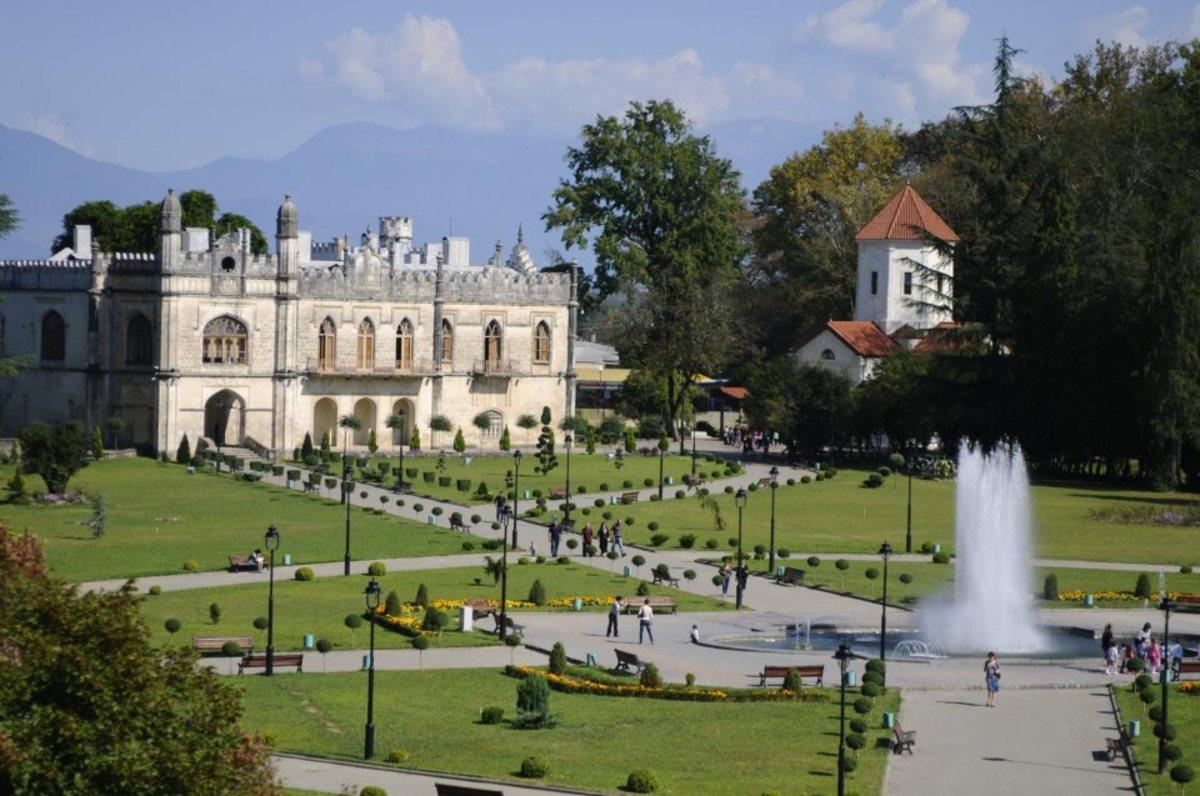 Dadiani Palace Gardens