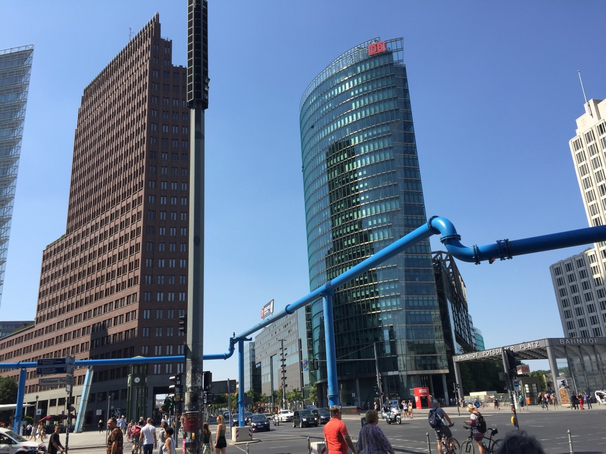 High rise at the Potsdamer Platz