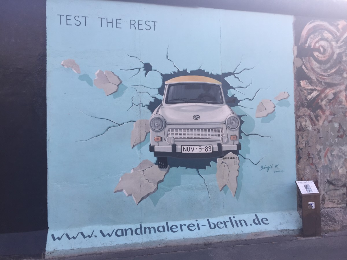 Solid German Manufacturing at the Berlin Wall (Berliner Mauer)
