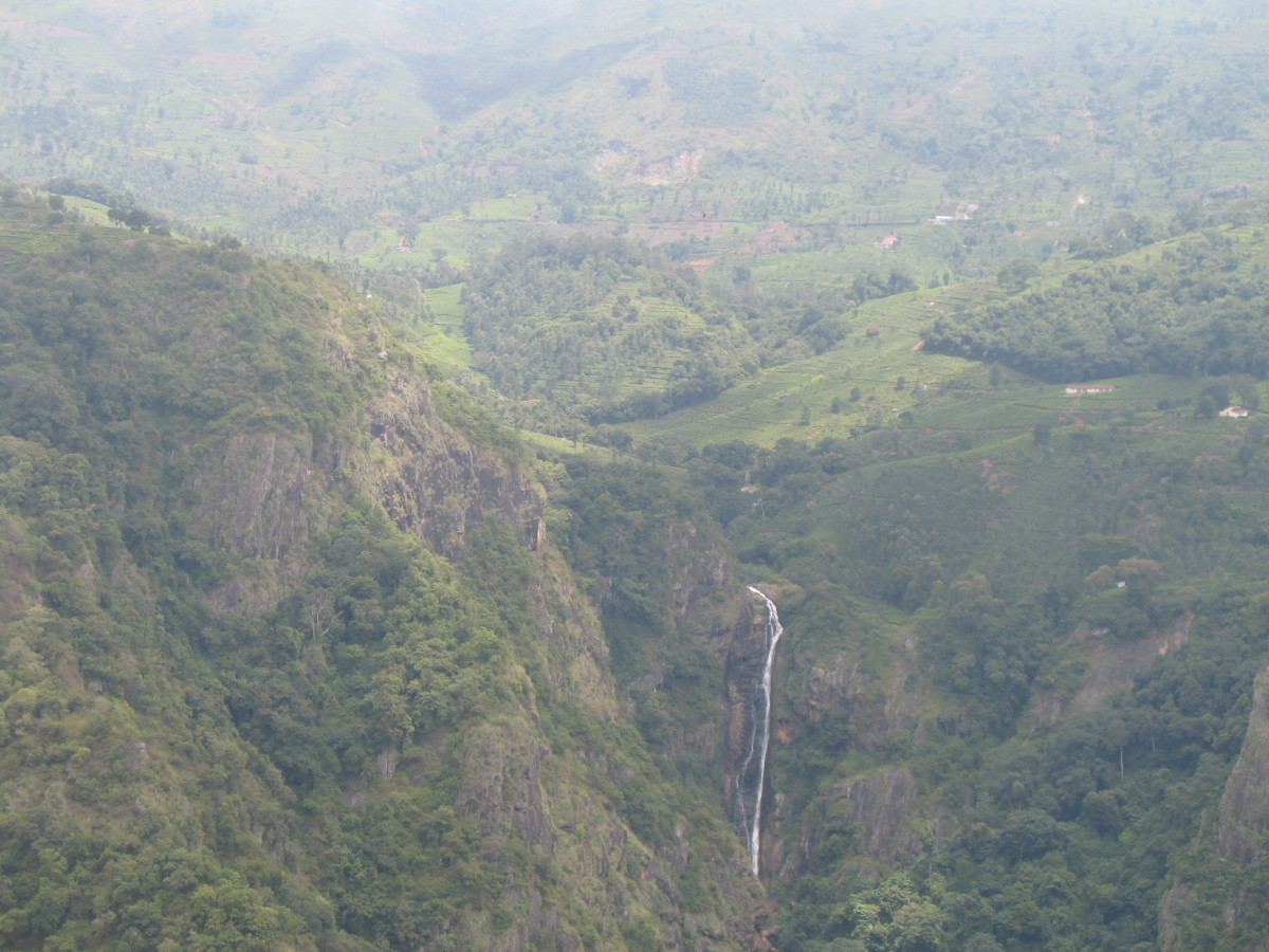 Catherine Falls as Seen From Dolphin's Nose