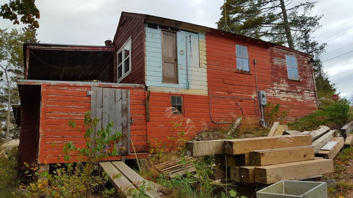 Abandoned Building, Schoodic, Maine