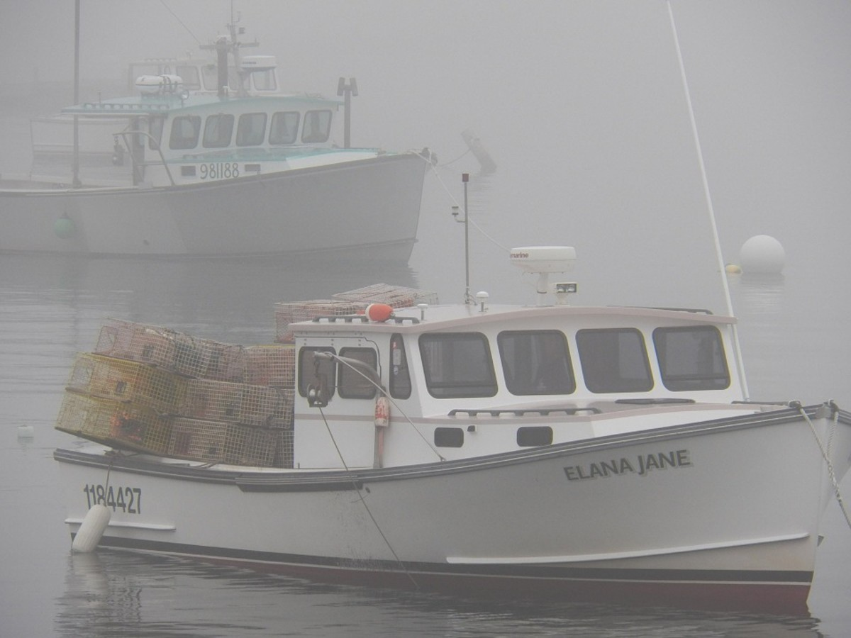 Lobster Boats, Maine
