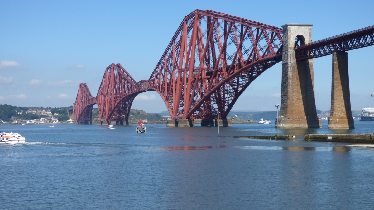 The Iconic Rail Bridge in Queensferry