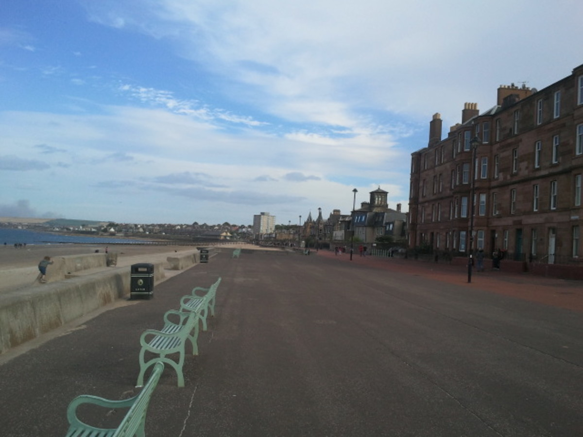Promenade at Portobello Beach