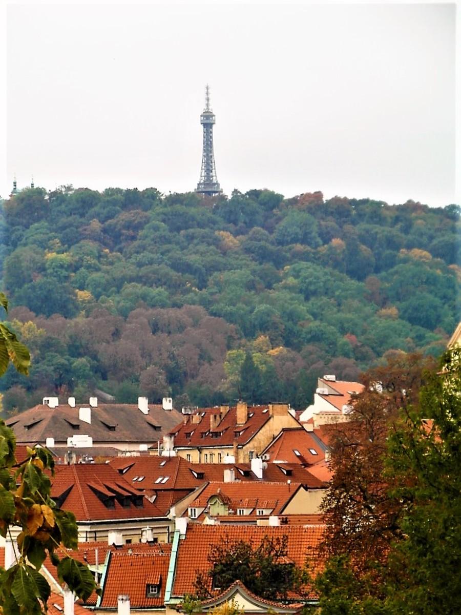 Observation Tower overlooking Mala Strana.
