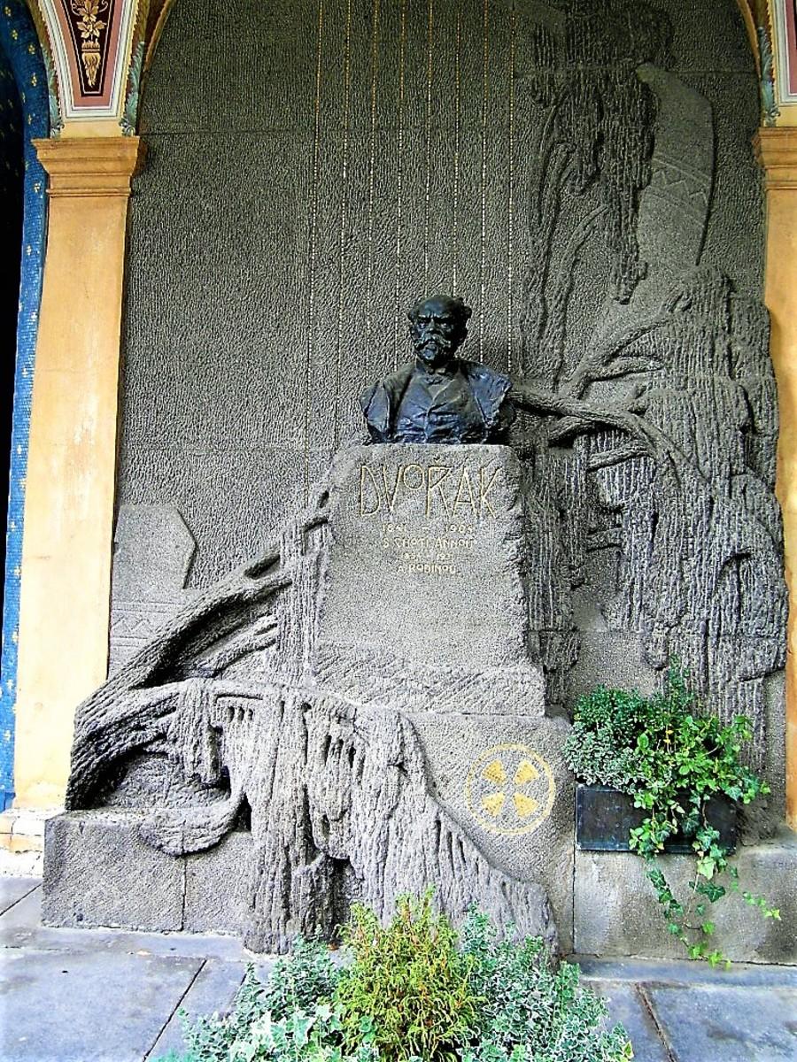 The Antonin Dvorak memorial.