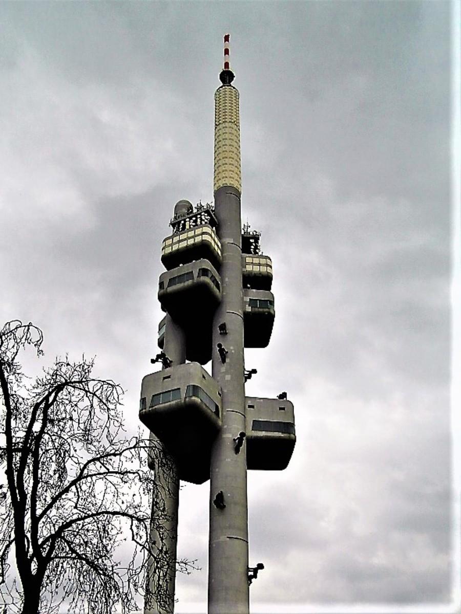 Zizkov Television Tower.