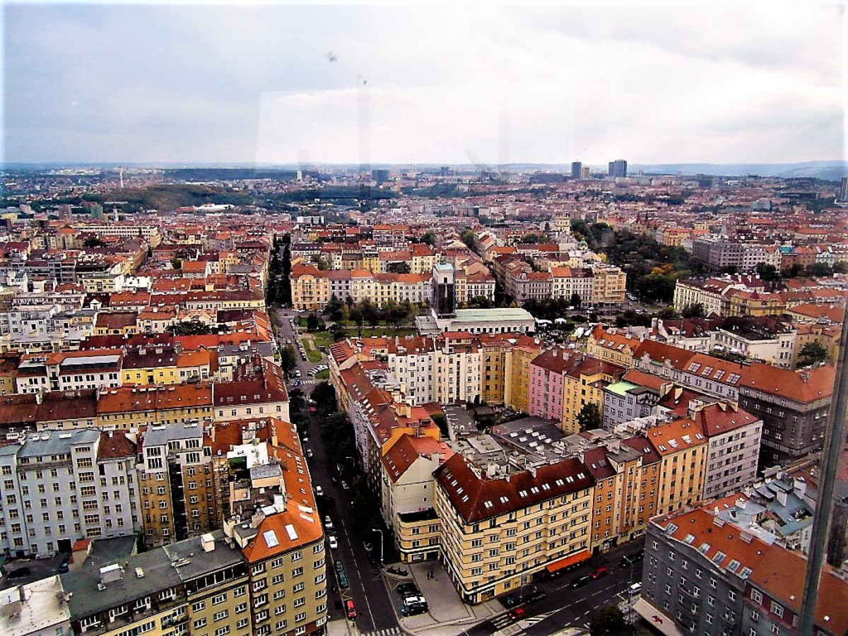 Prague from above.