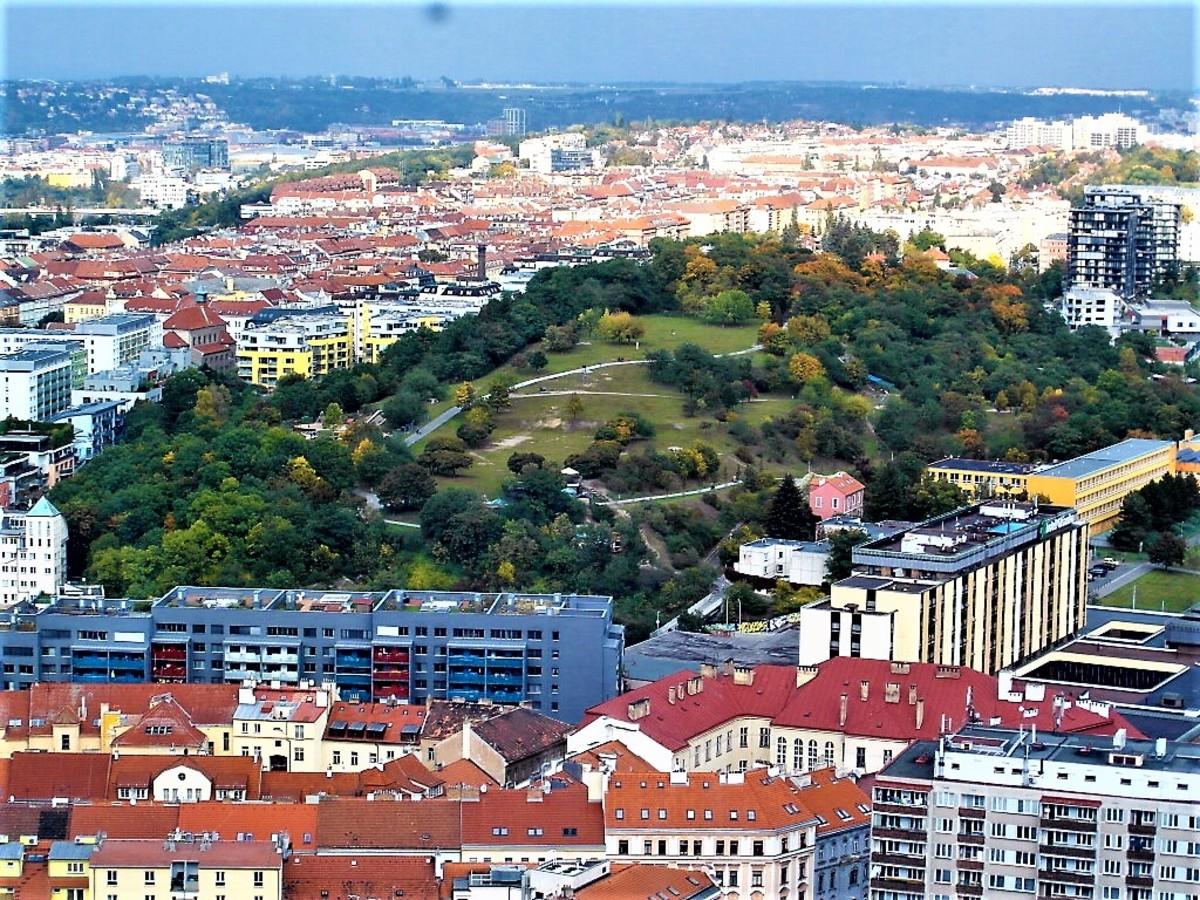 Towards the edge of Prague