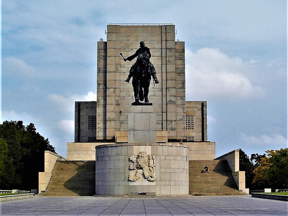 The National Memorial, Zizkov Hill.