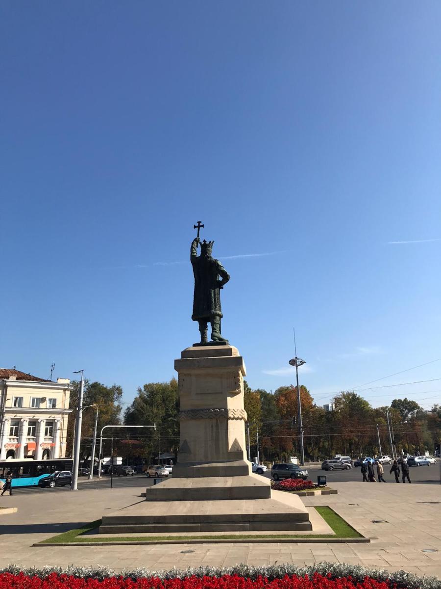 A Gorgeous Plaza in Moldova