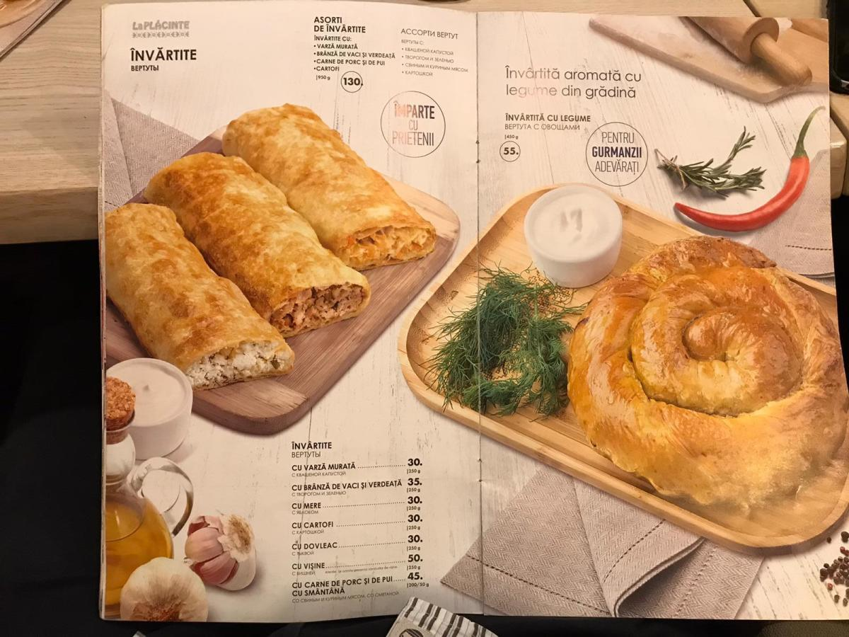 Savory Moldovan Pastries
