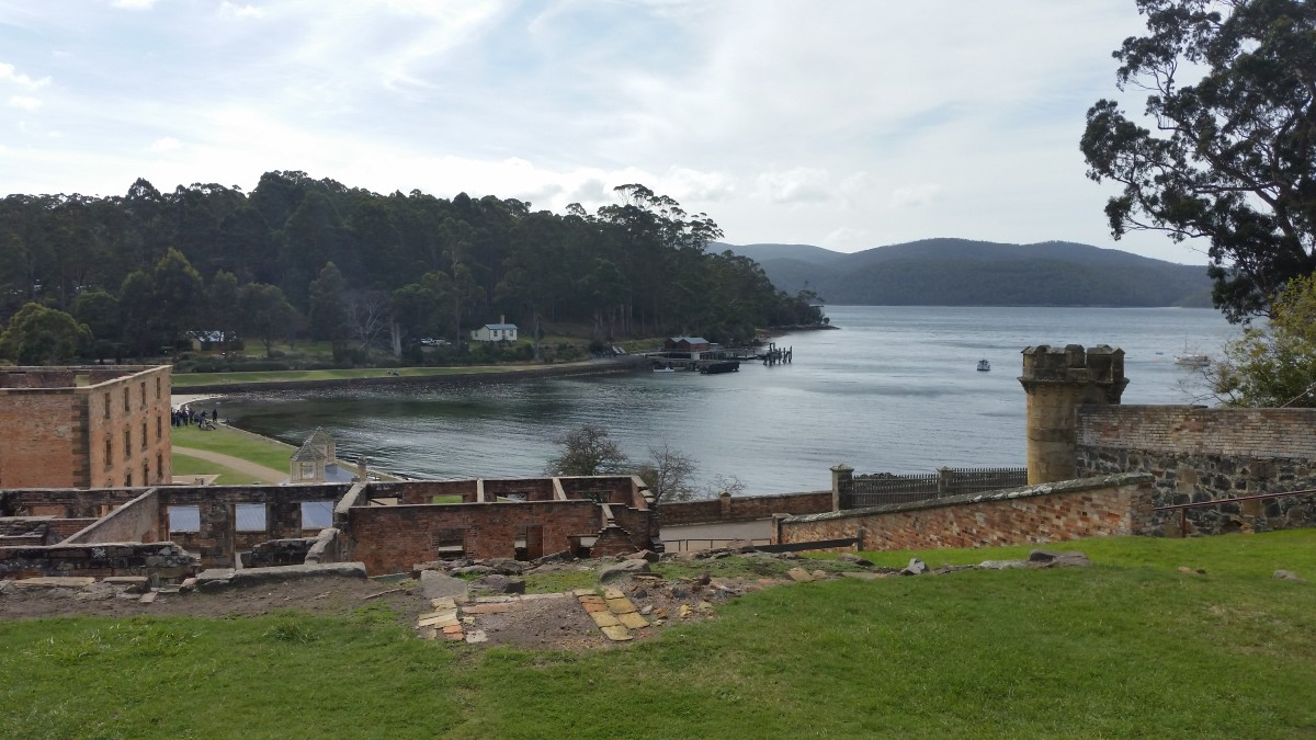 Remains of Buildings at Port Arthur