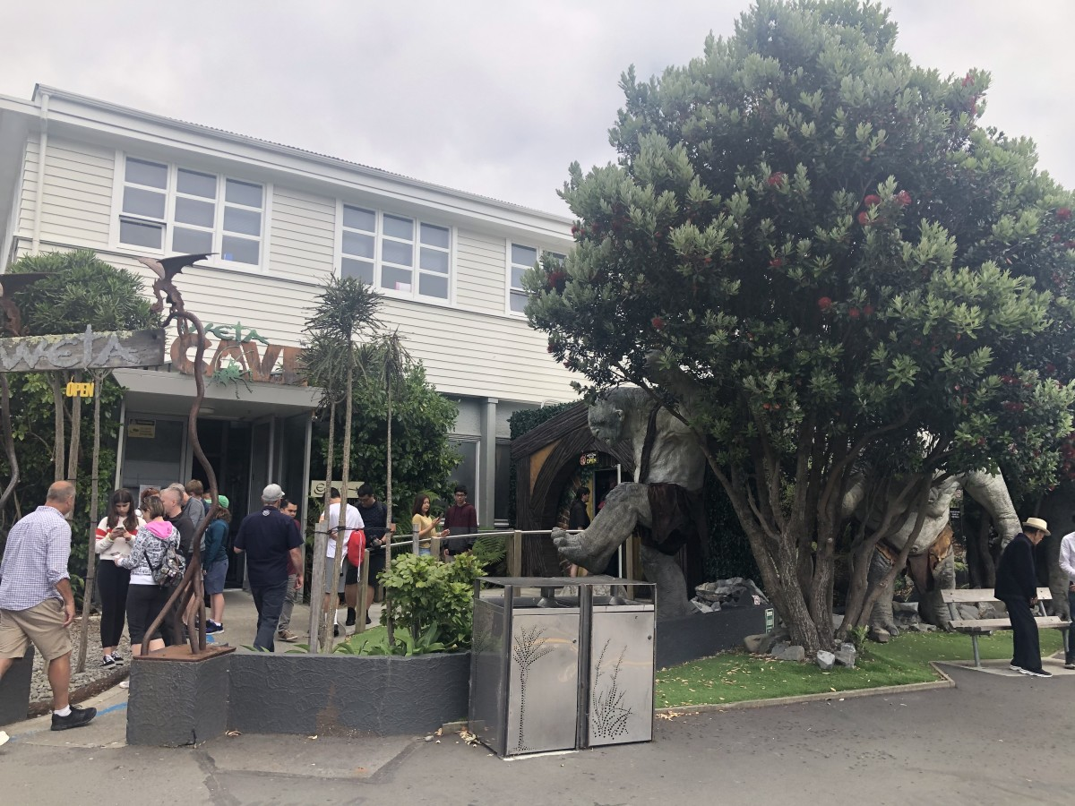 The Entrance to Weta Cave on Weka Street