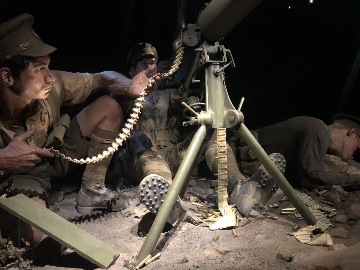 More Soldiers in the Gallipoli Exhibit