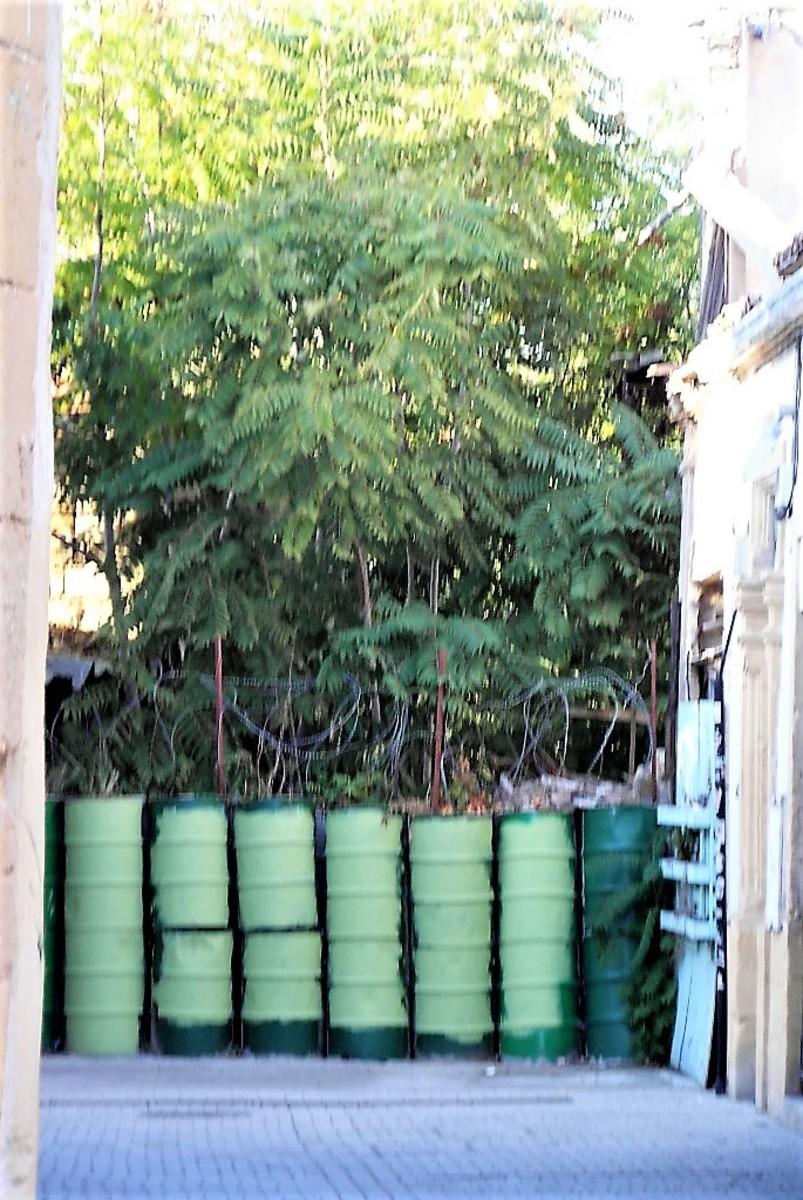The Green Line. Nicosia.