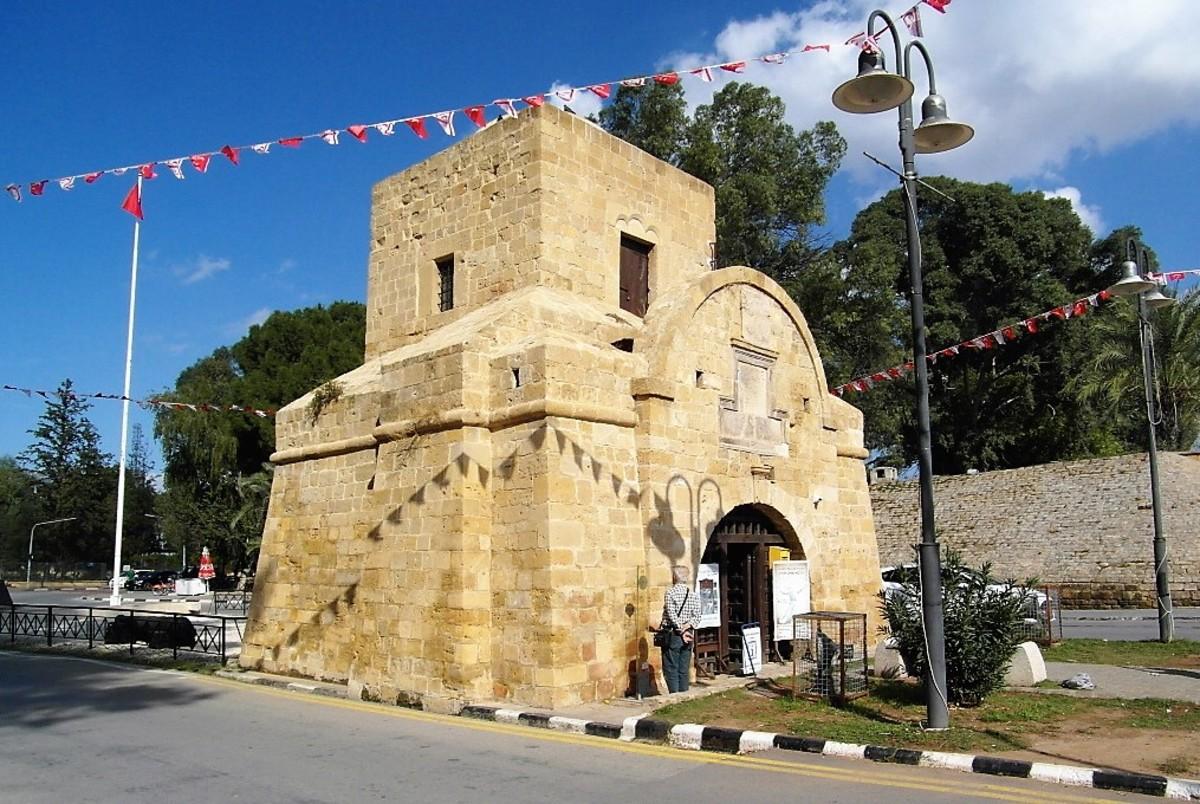 Kyrenia Gate, Nicosia, city side.