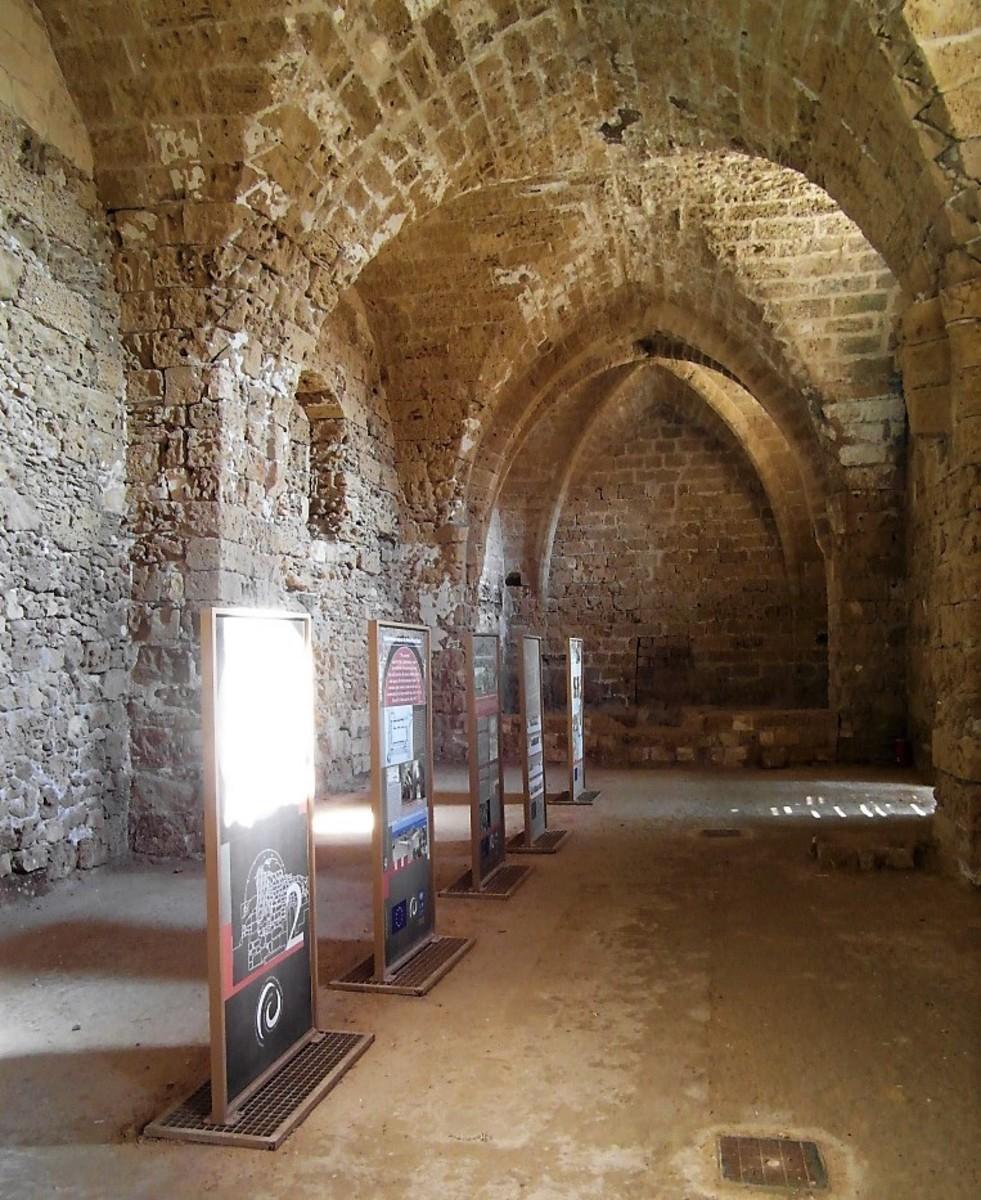 Othello Castle restoration exhibition.