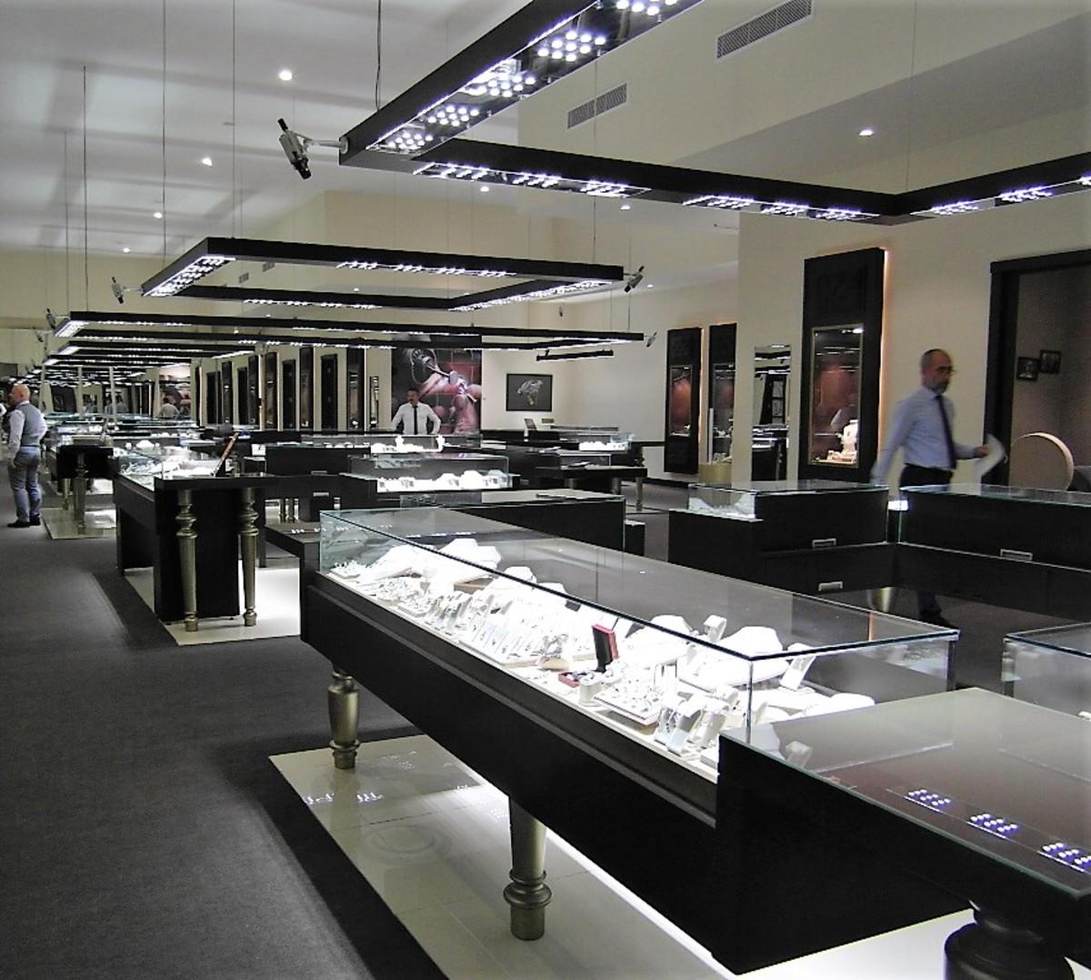 Bufavento showroom.