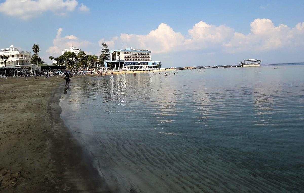 Towards Palm Beach Hotel, Famagusta.