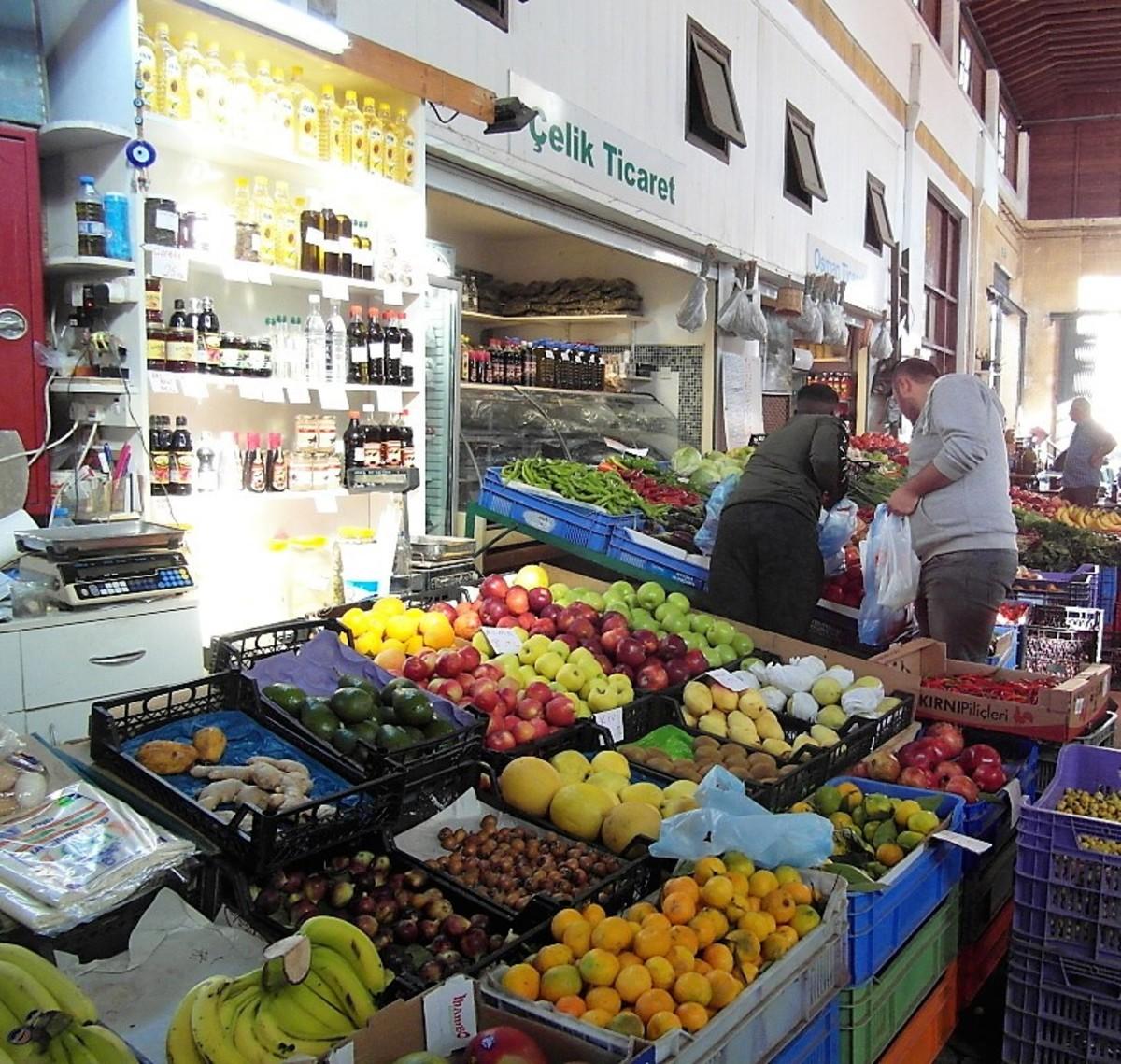 The Municipal Market, North Nicosia.