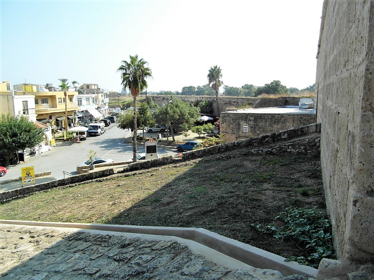 City walls, Famagusta.