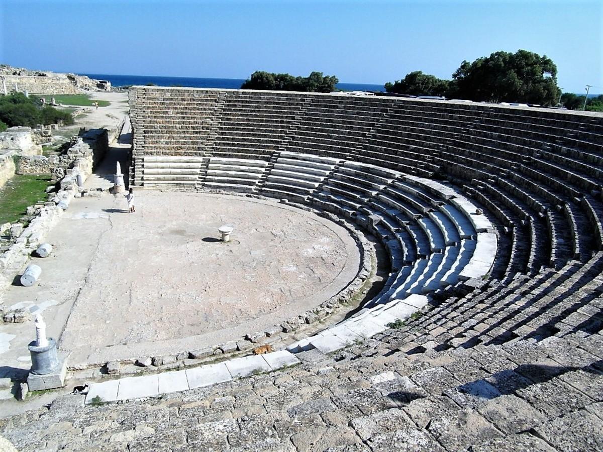 Theatre at Salamis.