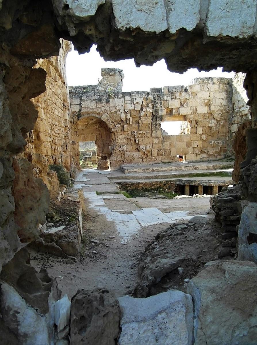 Baths at Salamis.