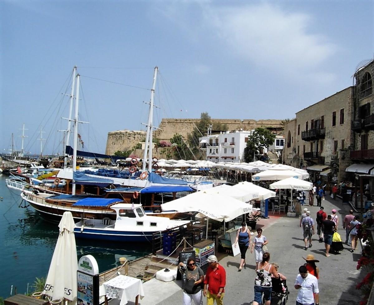 Kyrenia harbor,