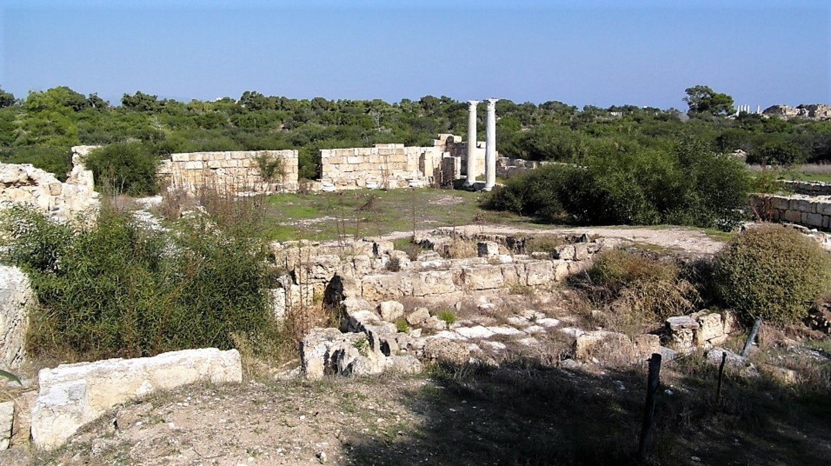 Salamis covers an extensive area.