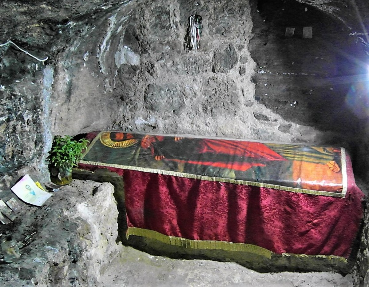 Tomb of St. Barnabas.