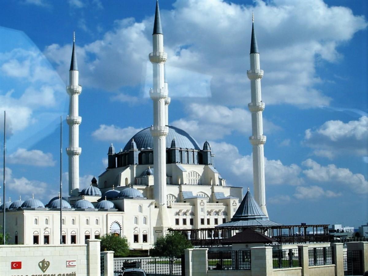 Hala Sultan mosque, Nicosia.
