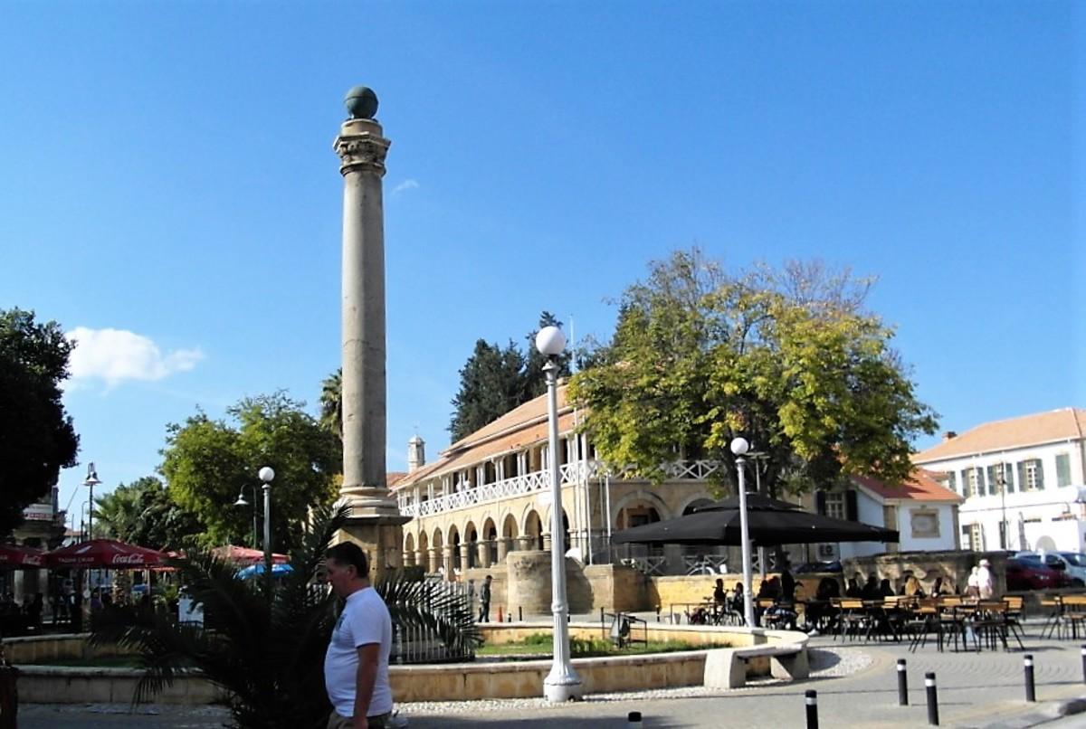 Ataturk Square, Nicosia.