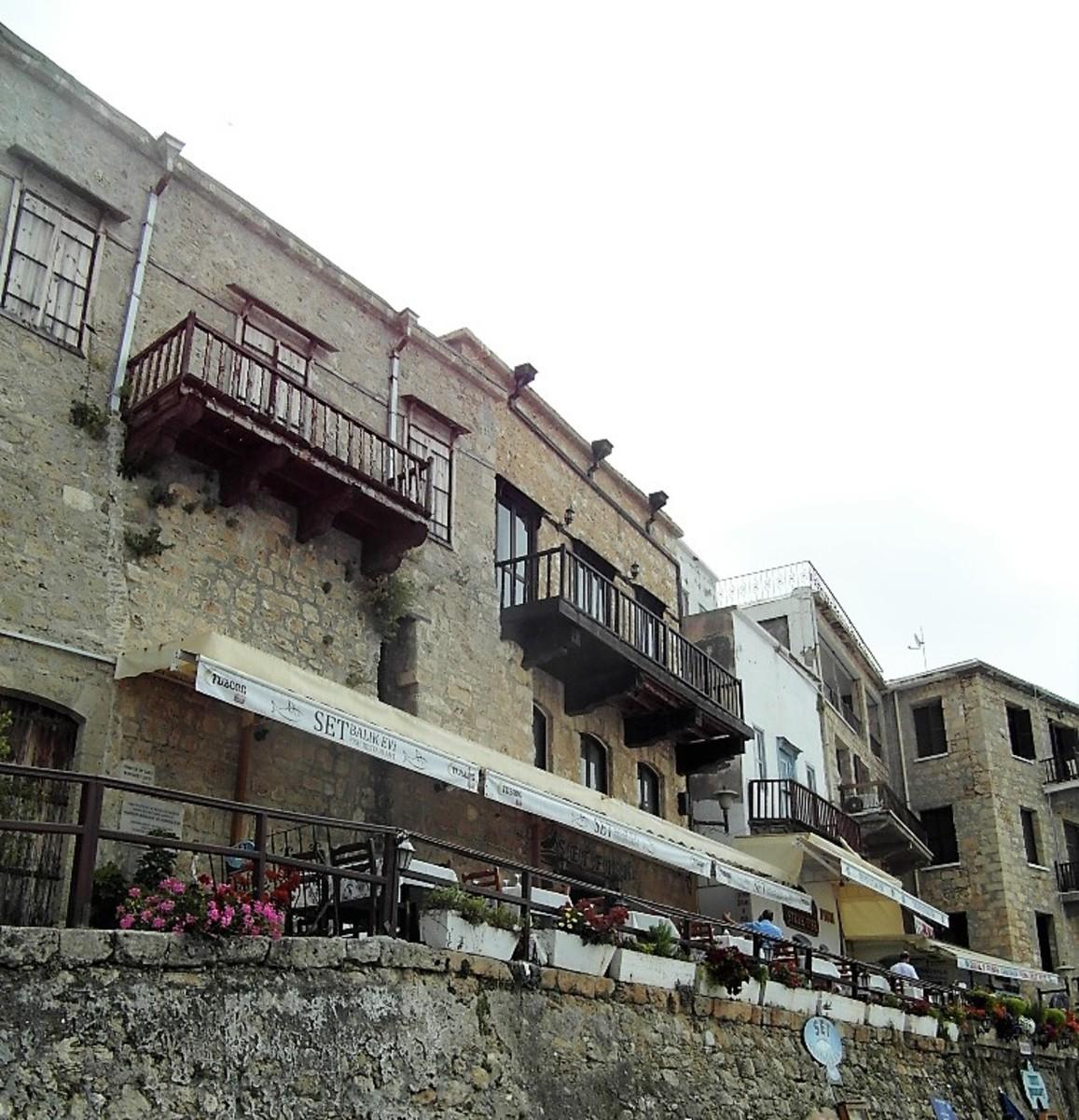 Set Balik Evi restaurant, Kyrenia.