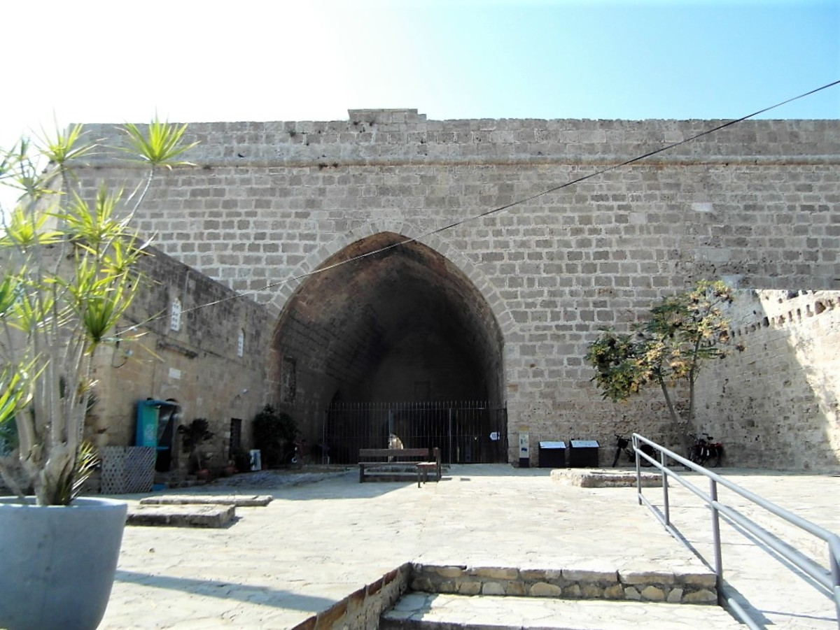 Land Gate, Famagusta.