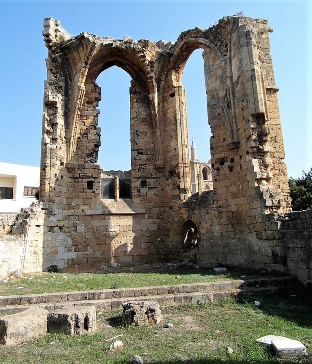 The Church of St. Francis of Assisi, Famagusta.