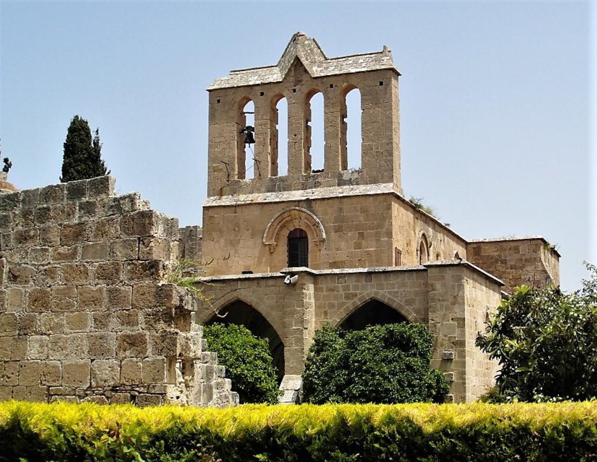 Bellapais Abbey, Northern Cyprus.