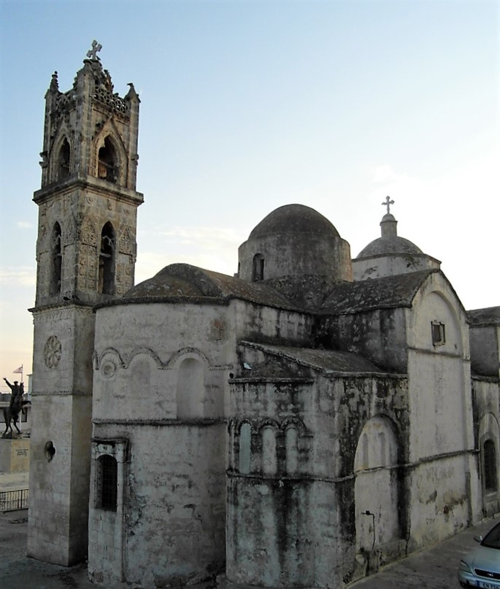 Church of Ayios Synesios, Dipkarpaz.