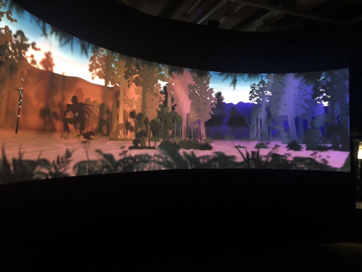 The animated curved screen as you enter the Nature Exhibit are breathtaking.