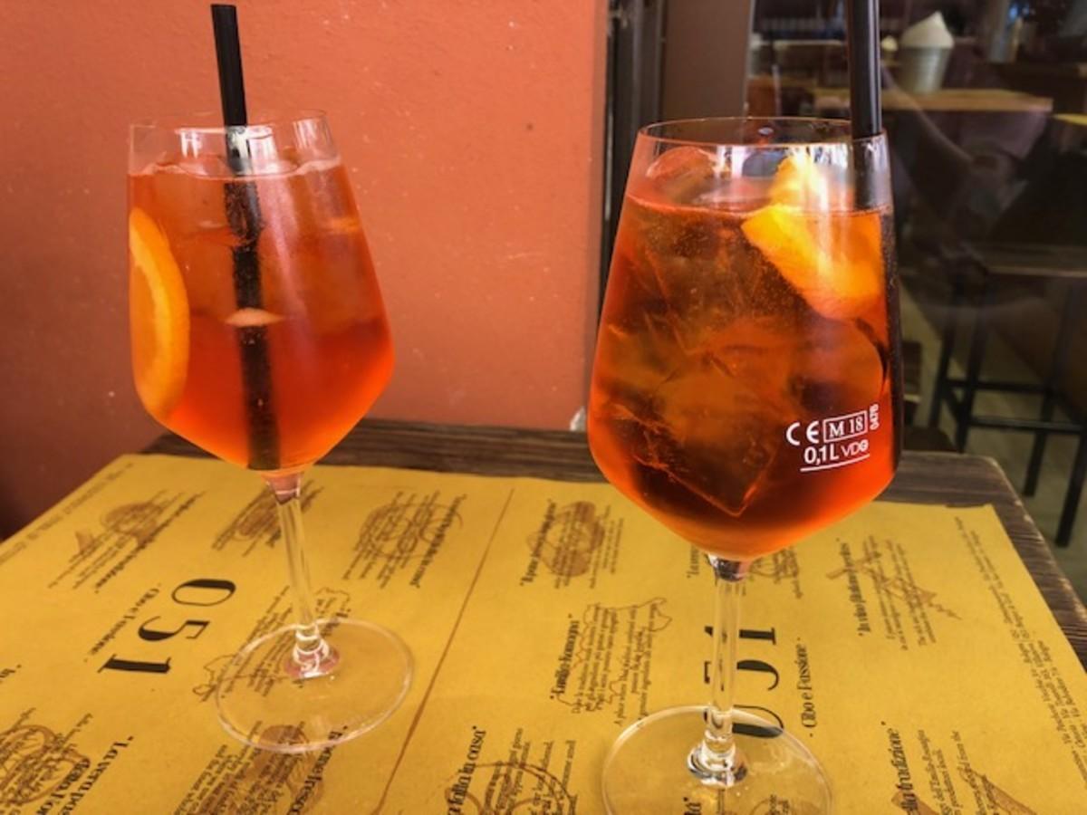 Aperol Spritz, a refreshing Italian drink