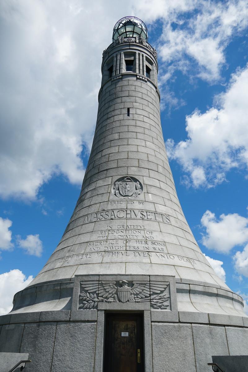The Massachusetts Veterans War Memorial